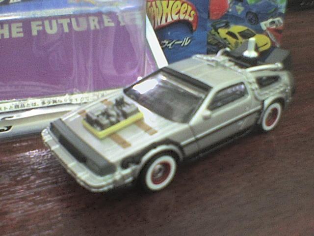 HW DeLorean III back to the Future HWDeLoreanIII8