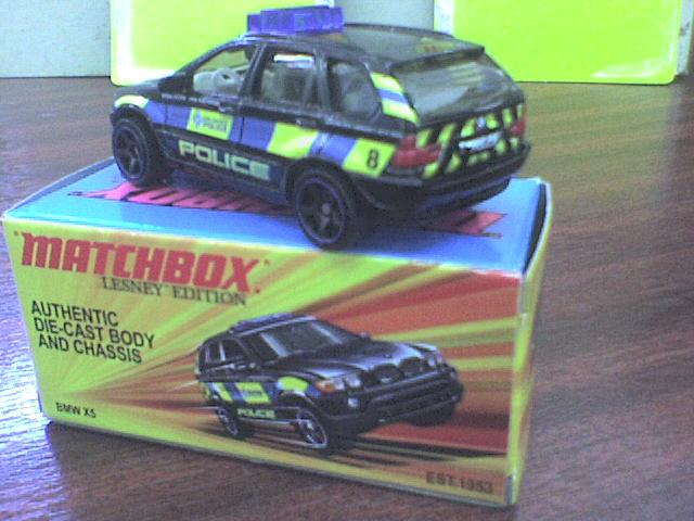 Los BMW de Mattel MbxBMWX5LesneyEdition5
