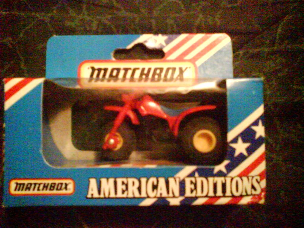 Mis Matchbox recién llegados MbxHondaATC2501