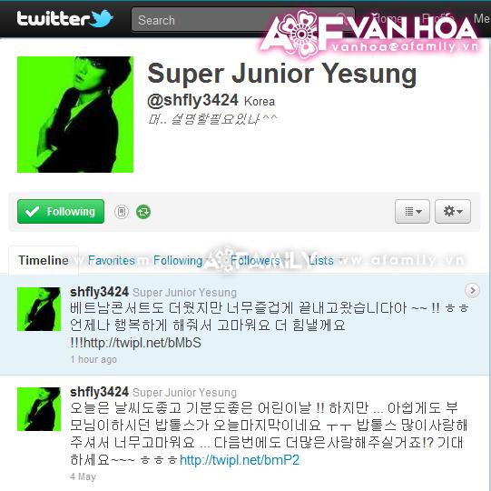 Những hình ảnh cuối cùng của Super Junior trước khi về nước 08052011afamilyvanhoatwitter-1