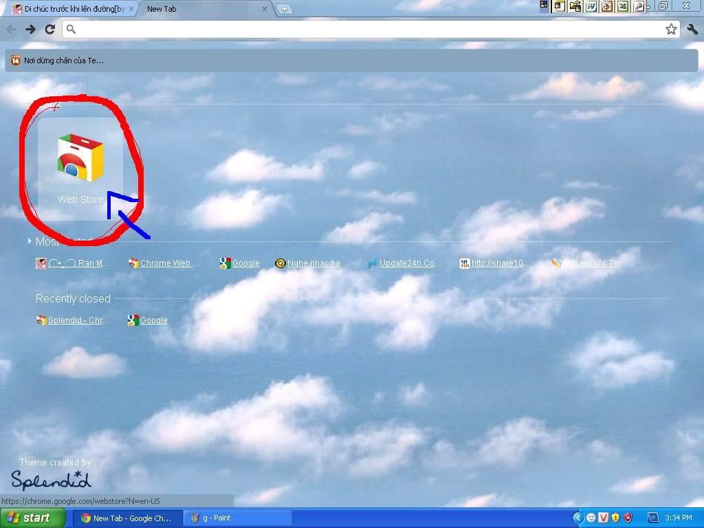 Trang trí cho giao diện Google Chrome của bạn!^^ 3-1