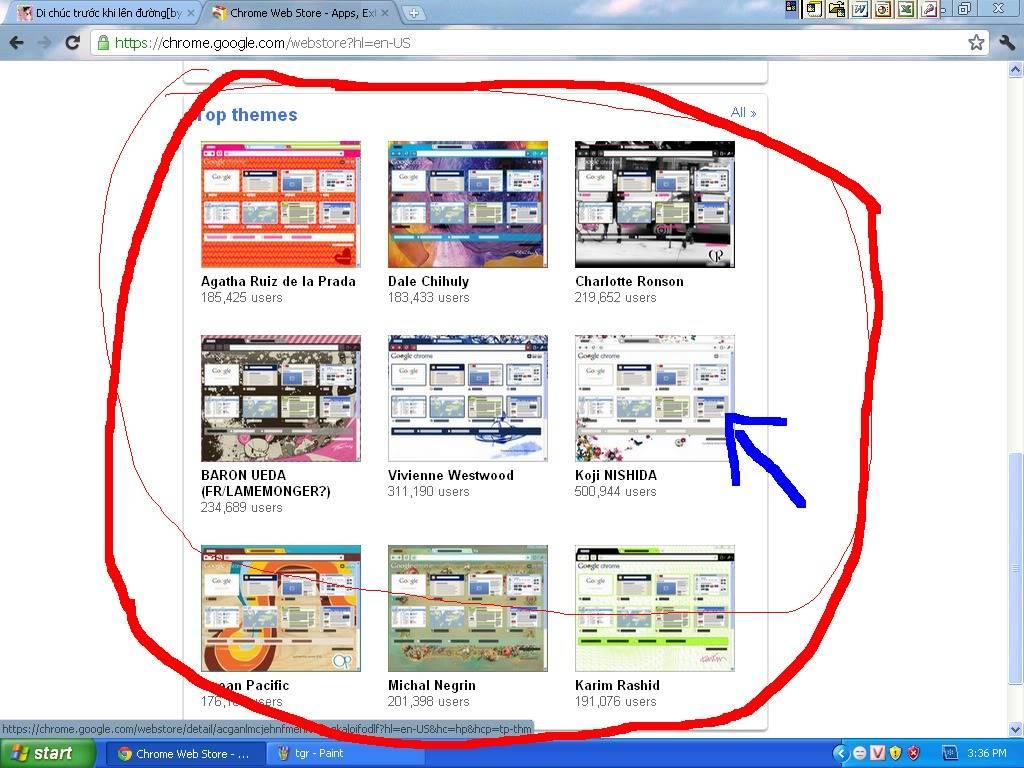 Trang trí cho giao diện Google Chrome của bạn!^^ 5