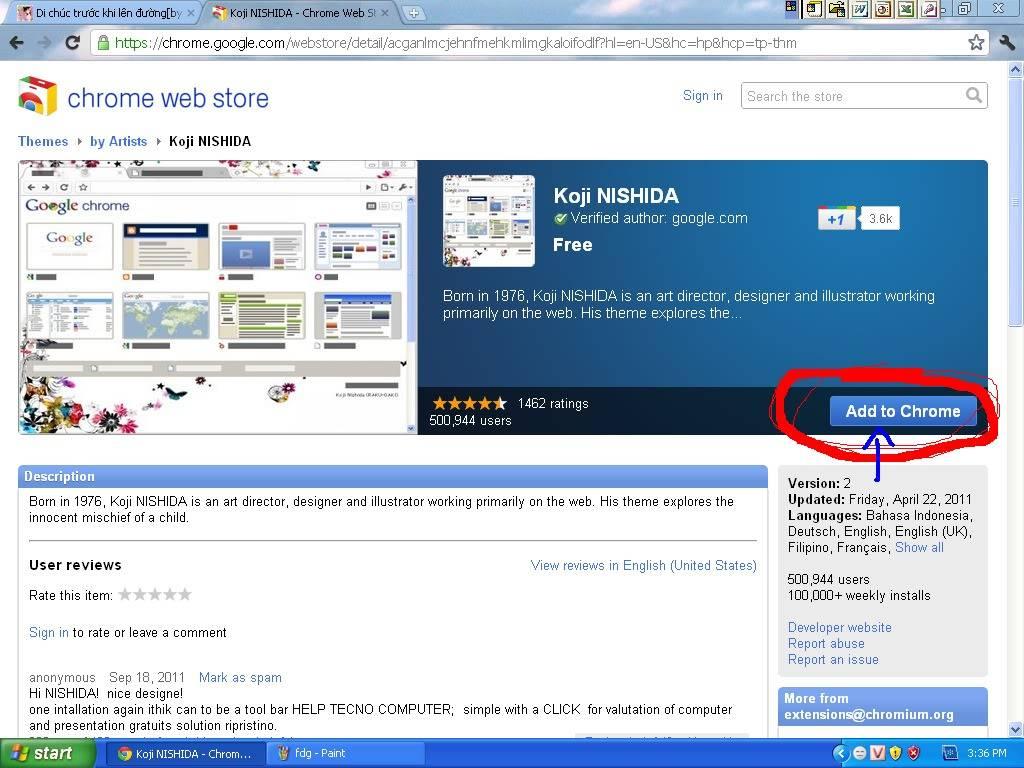 Trang trí cho giao diện Google Chrome của bạn!^^ 6