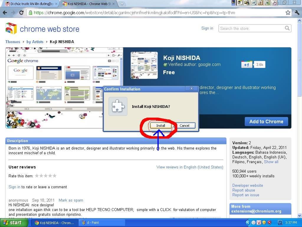 Trang trí cho giao diện Google Chrome của bạn!^^ 7