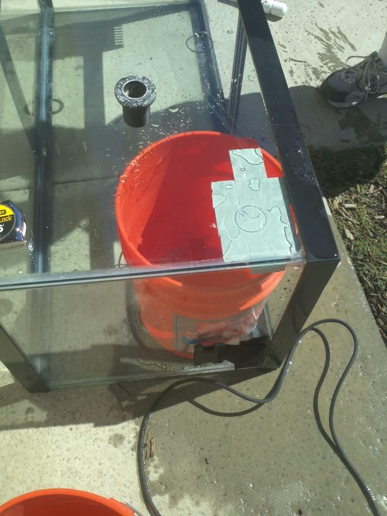 DIY Drilling a Glass Tank 2011-10-02122658