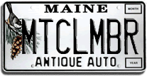 License plate ideas MTCLMBR