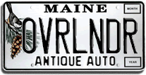 License plate ideas OVRLNDRAA