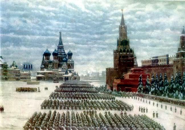 Pinturas sobre la Segunda Guerra Mundial 11sovietica