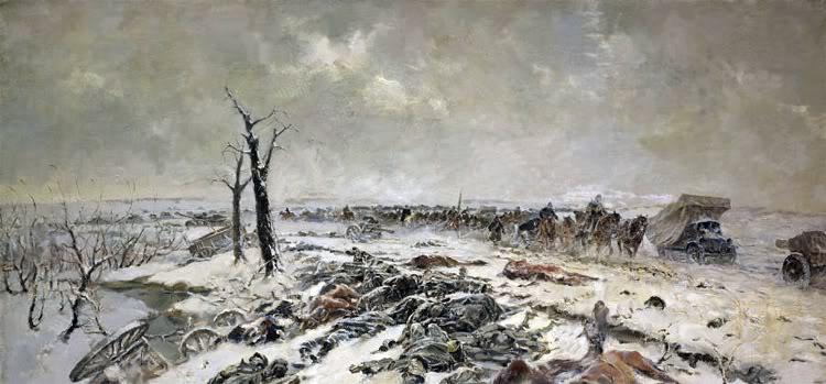Pinturas sobre la Segunda Guerra Mundial 49sovietica