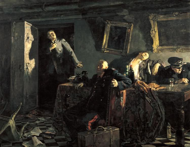 Pinturas sobre la Segunda Guerra Mundial 51sovietica
