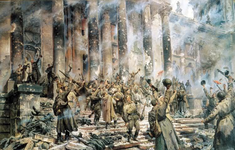 Pinturas sobre la Segunda Guerra Mundial 53sovietica