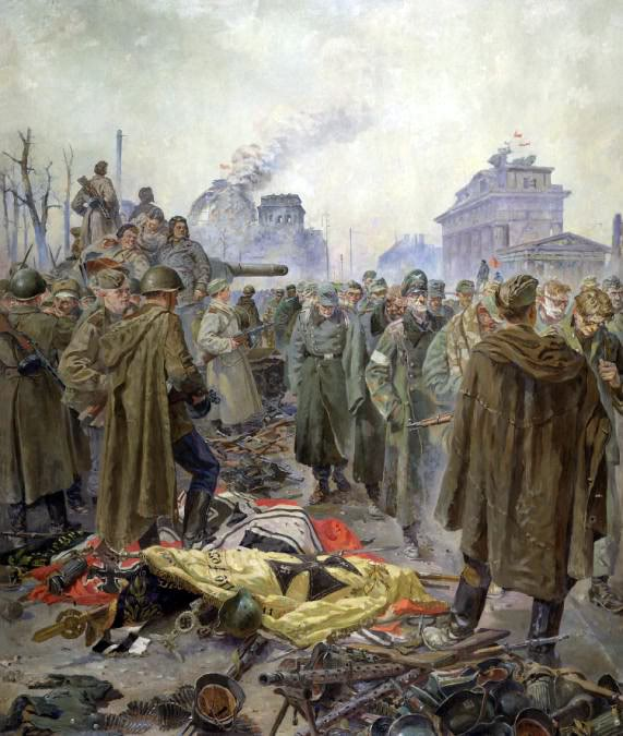 Pinturas sobre la Segunda Guerra Mundial 54sovietica