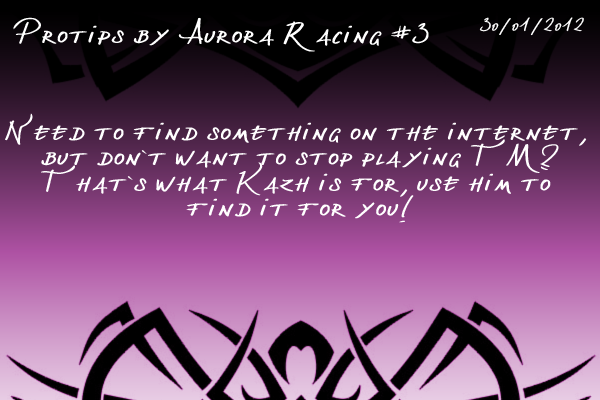 Protips by Aurora Racing Protip3