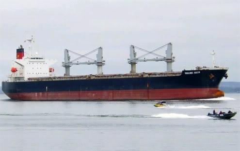Tàu Vinalines Queen chở 23 thuyền viên mất tích trên biển Tauvinalinesqueen1