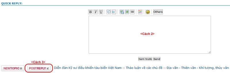 Hướng dẫn một số chức năng trên diễn đàn (chèn ảnh, upload tài liệu...) Traloi02