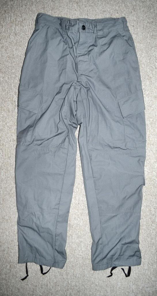 """ANA Gray Field Pants with Green """"Severe Pentaties"""" Warning Tag DSC_5571_zps18c36f7f"""