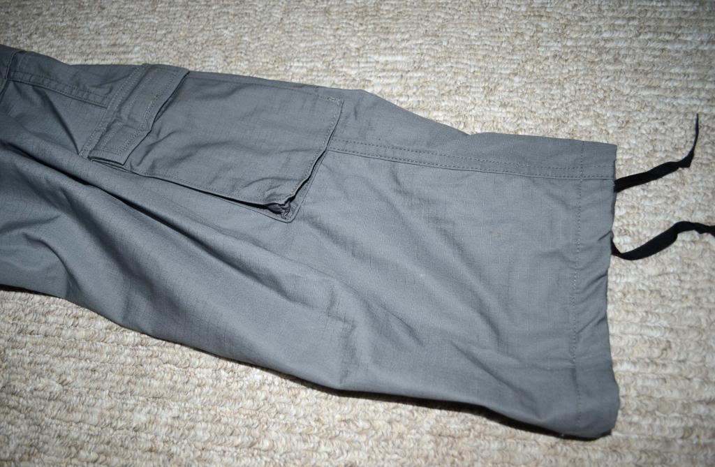 "ANA Gray Field Pants with Green ""Severe Pentaties"" Warning Tag DSC_5572_zps9e310629"