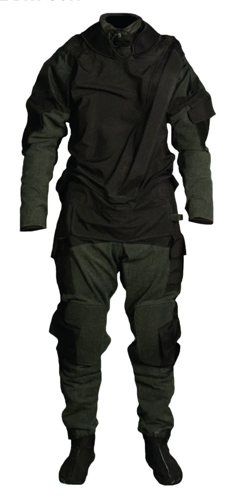 SEAL/SWCC/Riverine Mustang Survival Surface Operations Tactical Dry Suit MSD575 NV Drysuit