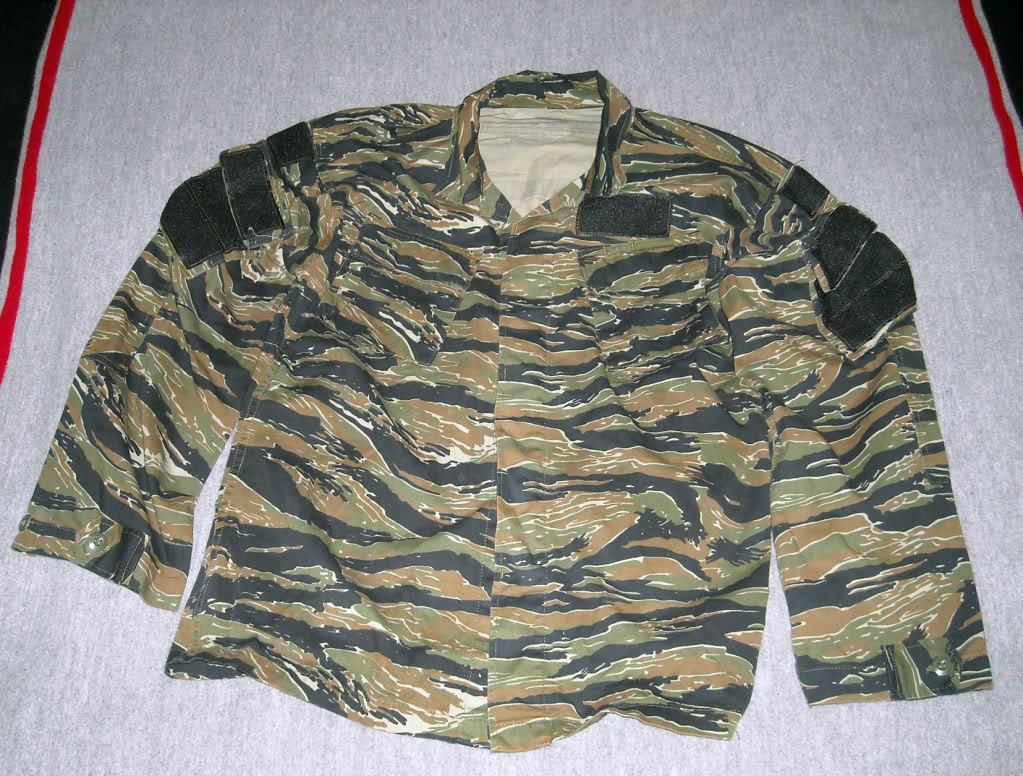 Tiger Stripe Modified Uniform Blouse DSCN9488