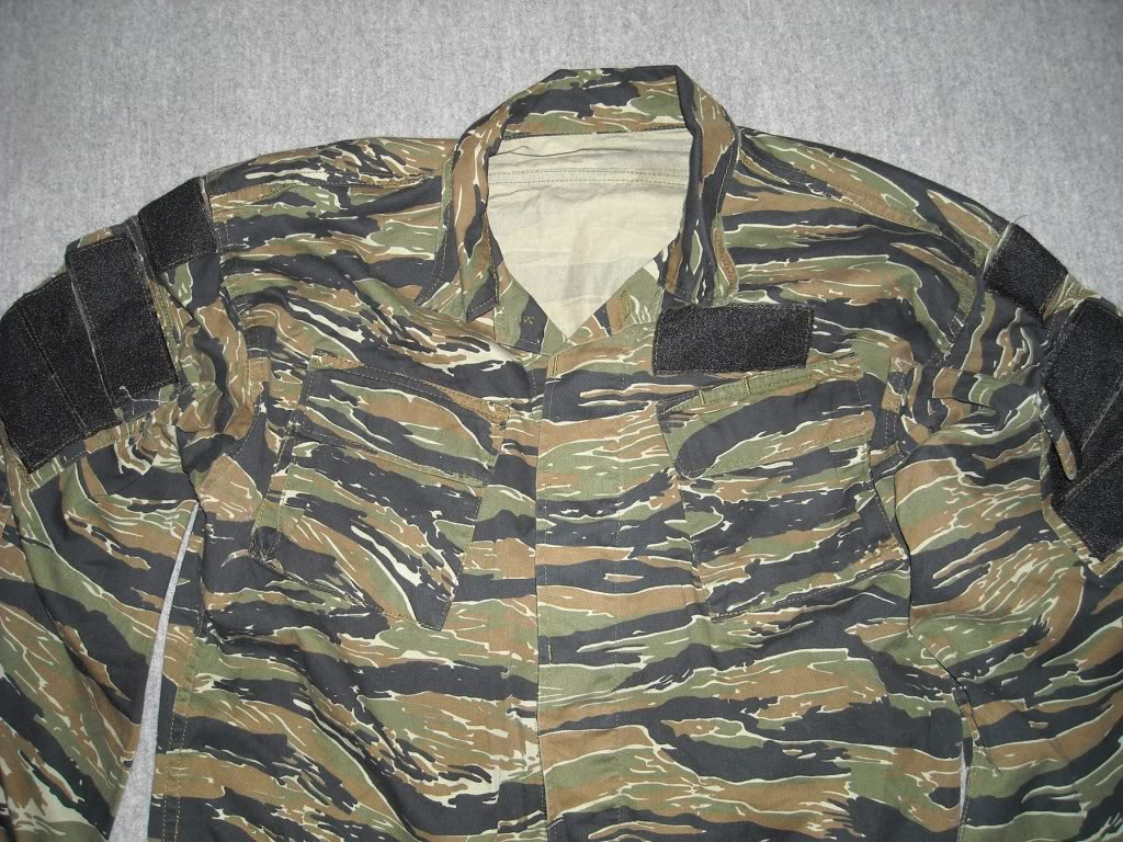 Tiger Stripe Modified Uniform Blouse DSCN9489