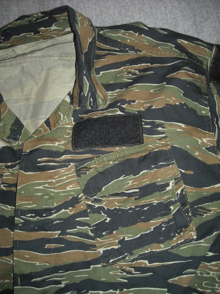 Tiger Stripe Modified Uniform Blouse DSCN9490