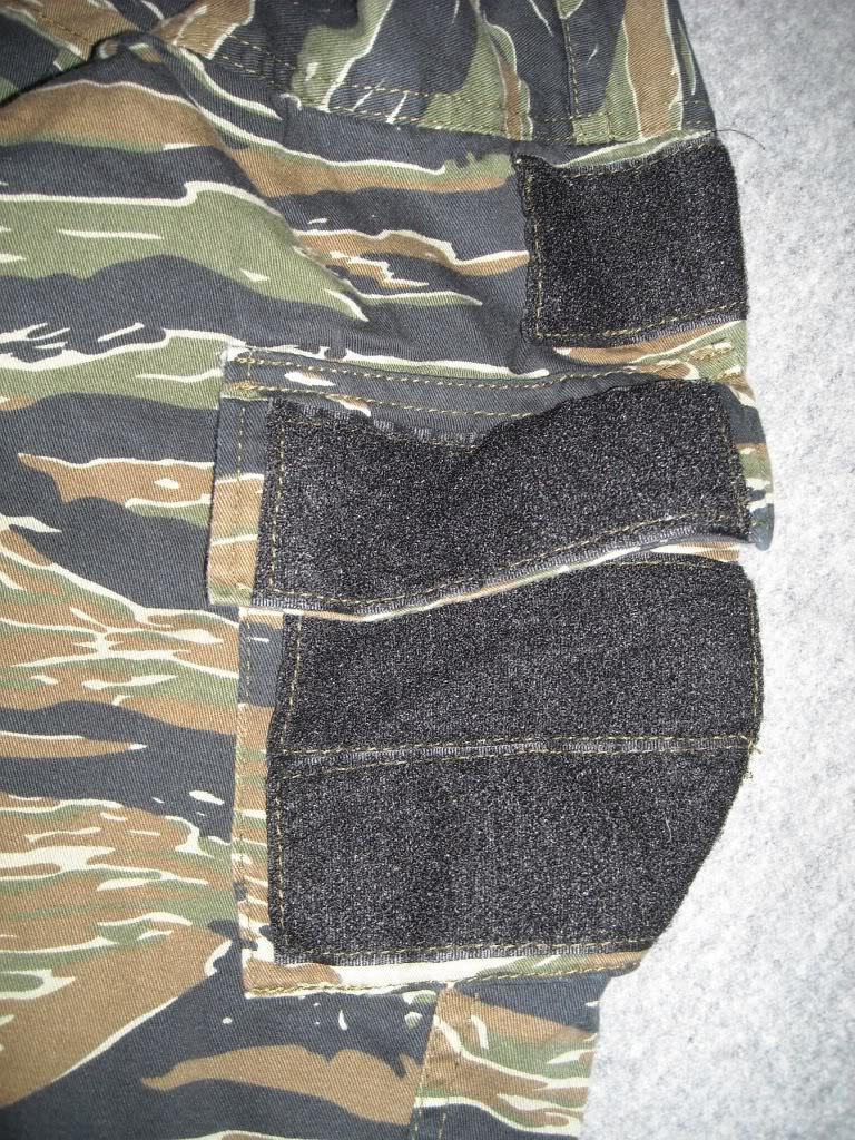 Tiger Stripe Modified Uniform Blouse DSCN9491