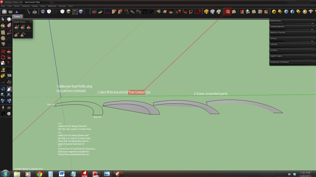 how to model a curve road 01_zps85299430