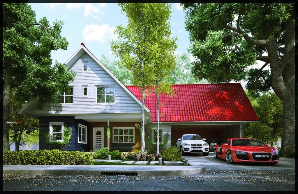 Chenlee's 3D Gallery 1999LifeDreamHousewholeview