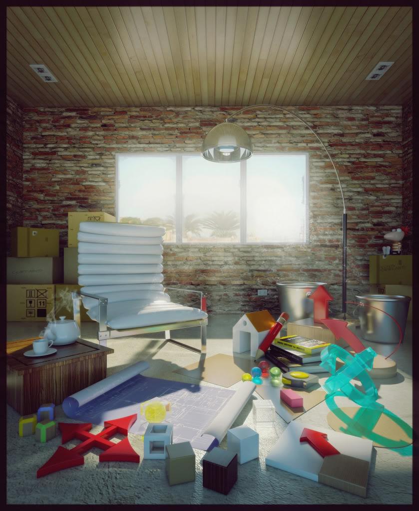 Chenlee's 3D Gallery FINAL-DAYSCENE