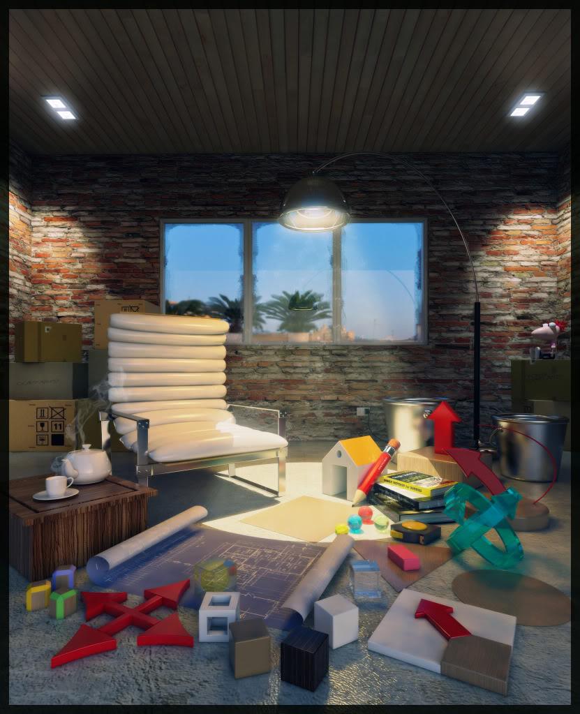 Chenlee's 3D Gallery FINAL-NIGHTSCENE