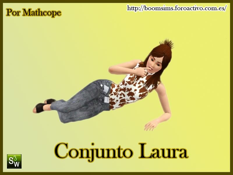 [BS!] Boom Sims! ConjuntoLaura