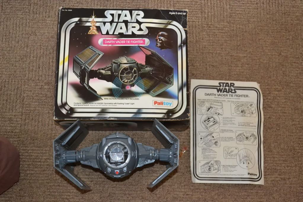Palitoy Vader's Tie fighter.. Valuations please DSC_0262