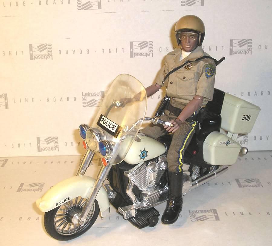 MAM Re-mix Future Bike Cop. Policebike