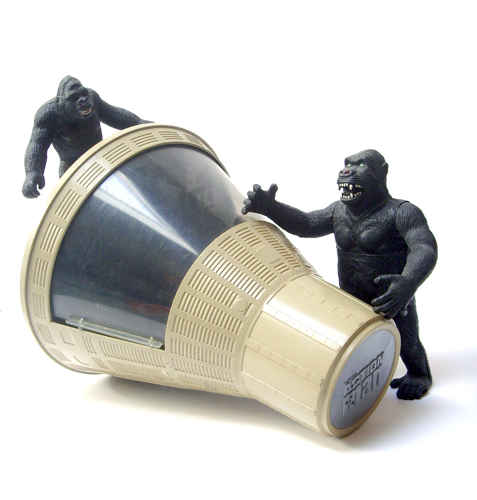 King Kong figures by Konami & X-Plus! Spacecap3