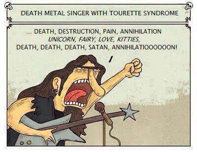 Funny Pics DeathMetalSinger