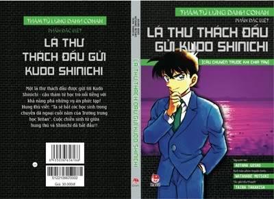 """Lần đầu tiên, ra mắt tiểu thuyết """"Thám tử lừng danh Conan"""" Lathuthachdau"""