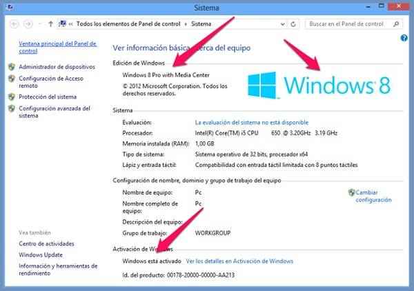 Windows 8 Pro (ESP) (x32-x86)[Original sin modificaciones][ISO][UL] W8activ