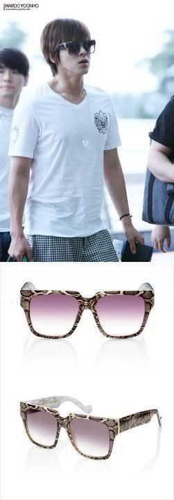[NEWS] 120610 Yunho utiliza gafas de sol de una destacada diseñadora para el SMT in Taiwan! 484183_462696223757708_1620925208_n