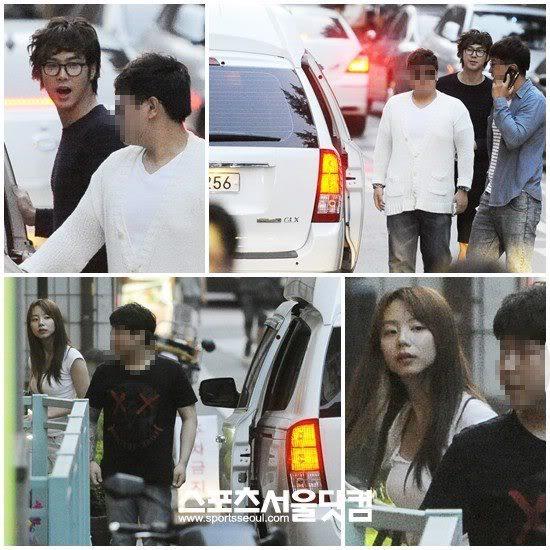 [NOTICIA] 120627 Yunho y Park Soo Jin fueron juntos a un musical 556056_472648702762460_1430156719_n