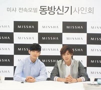 [INFO] 120827 MISSHA renueva su contrato con TVXQ!! Tradmissa