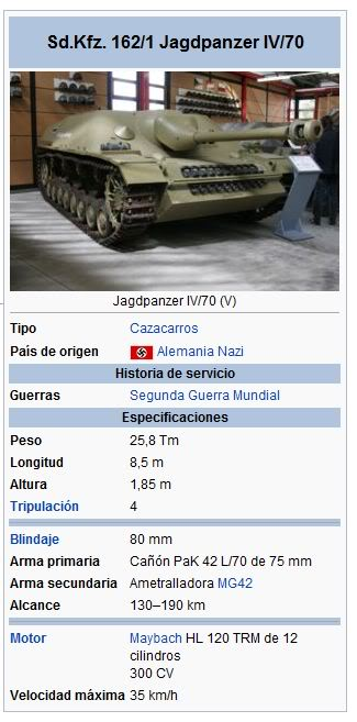 Tanques, solo tanques SdKfz1621JagdpanzerIV70