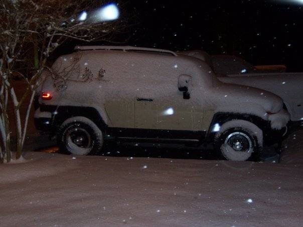 FJ's in the snow! Fjsnow3