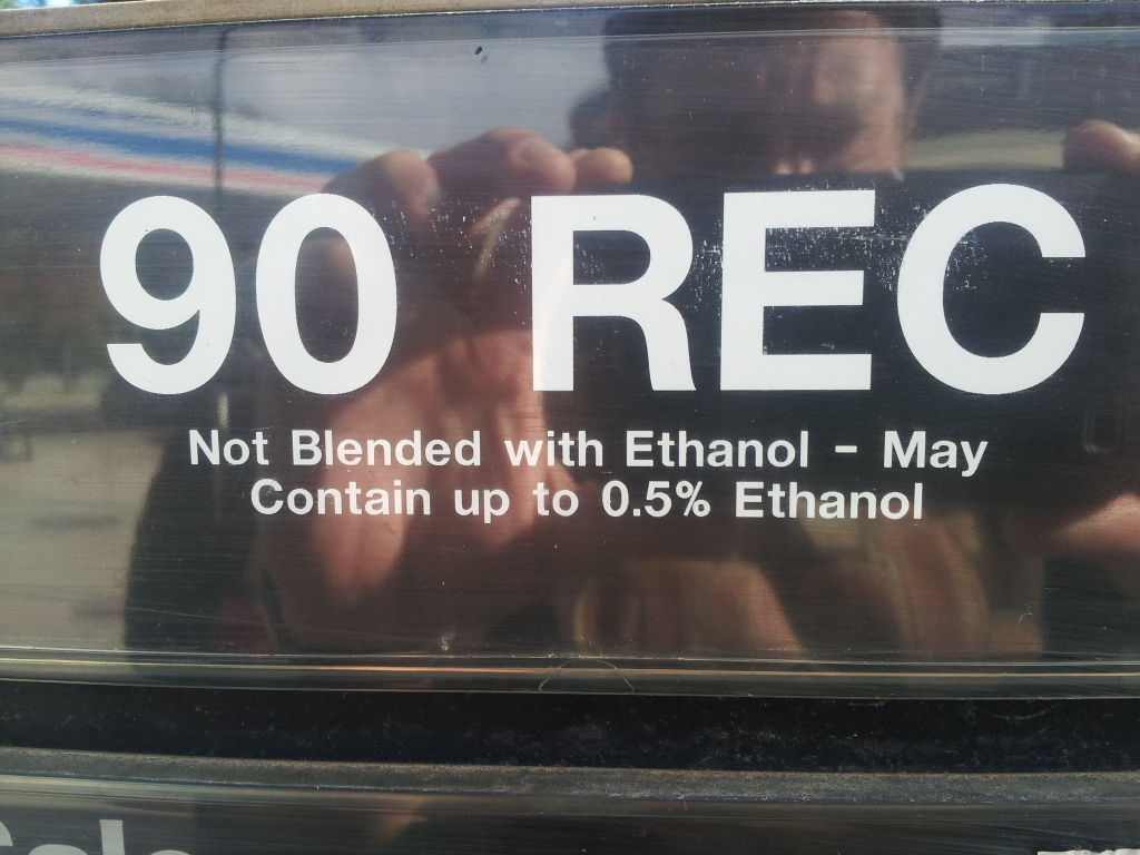 Ethanol FREE North Carolina gas stations... No_eth