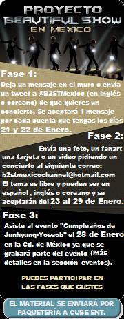 Noticias de B2ST PBSMEXICO