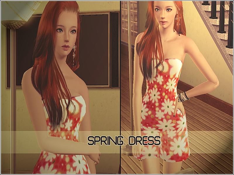 LovelySims - Página 2 SpringDress