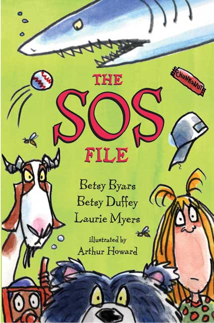 [Book]The SOS File - Betsy Byars,  Laurie Myers, Betsy Duffey 97808050688871