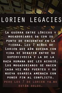 Lorien Legacies Oscuro