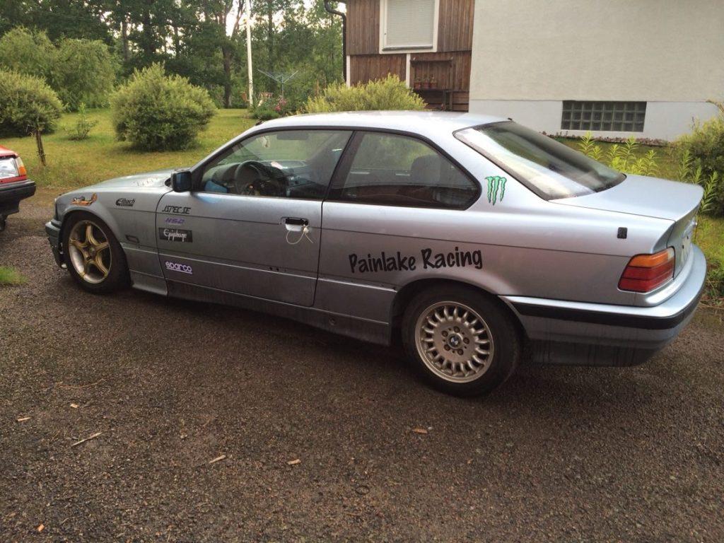 Painlake Racing - BMW E36 driftingbil. Filmdags..  10333736_810224452321884_257130931376475483_o