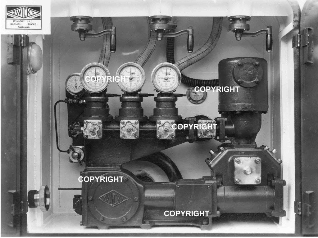 Has anyone seen parts or all of this Zwicky pump ? ZwickyPump_Petrol