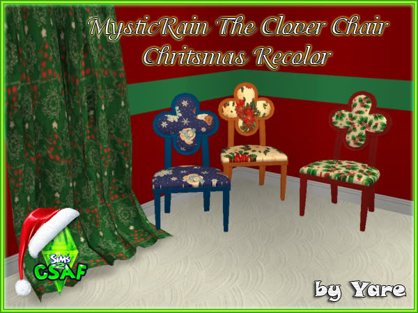 :: CSAF CALENDAR ADVENT DIA 2 :: TheCloverChair_ChritsmasRecolor01